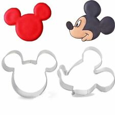 Disney Minnie & Mickey Mouse Cookie Cutter for Pastry, Fondant, Gumpaste, Dough