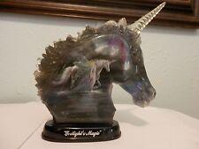 "2002 Unicorn ""Twilight""s Magic"" Limited Edition Bradford Exchange"