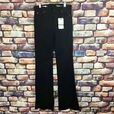 Woman's GAP  Black Flared Jeans 24w 34l BNWT RRP 95 - High Quality Denim !!