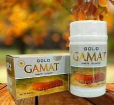 (2 Bottles) Gold GAMAT 75 Capsules 500 Mg Of Gold Sea Cucumber