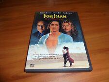 Don Juan de Marco (DVD, Widescreen/Full Frame 1998) Johnny Depp Used DeMarco