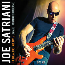 JOE SATRIANI & G3 New Sealed 2020 UNRELEASED LIVE CONCERTS 3 CD BOXSET