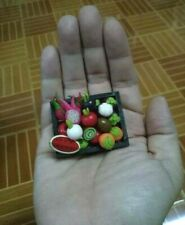 Doll house Clay Miniature Exquisite Kitchen Thai Fruit  Accessory Handmade