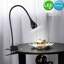 LED Diseño Pinza Lámpara Noche Luz Lámpara de Lectura Invitados Habitación Flexo