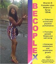 Becoplex B Vitamins Vitamin C Tonic Syrup Plus 125ml Appetite Stimulant Growth