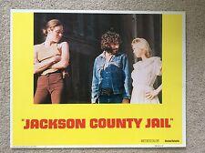 JACKSON COUNTY JAIL Original PRISON Lobby Card MARCIEE DRAKE MARCIE BARKIN