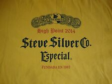 Steve Silver Co. Especial High Point Furniture Yellow T Shirt Men's Size 2XL