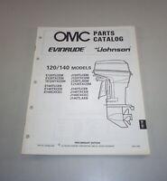 Parts Catalog Johnson Evinrude Outboard Motor 120/140 Models Since E120TLCEM V.