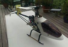 Vintage rare (KALT) Hélicoptère RC TSK MYSTAR 46