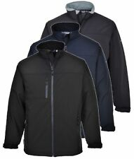 Portwest Jacket TK50 Softshell Fleece Lined Windproof Water Resistant Work Coat