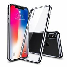 2017 For iPhone X Ultra Thin Transparent Clear Soft TPU Silicone Back Case Cover