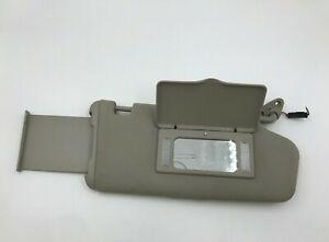 2002-2005 Subaru Legacy Passenger Sun Visor Sunvisor Gray Illuminated OEM V0170