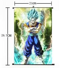 "Hot Japan Anime Dragon Ball Z Kakarot Goku Home Decor Poster Wall Scroll 8""x12""z"