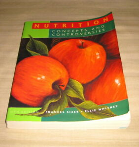 Nutrition Concepts and Controversies 11th Edition By Frances Sizer Softcover