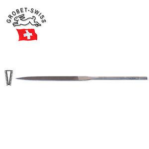 Grobet Swiss Pattern Needle File 6-1//4 Inch 1//2 Round Cut 4