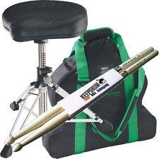 K&M 14000 Gomezz Drumhocker + Tragetasche 14003 + Keepdrum 1 Paar Drumsticks !!!