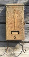Vintage Steel Mailbox Made By PN Co Fulton Illinois