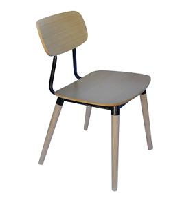 2x Angie Chair - Walnut or Black