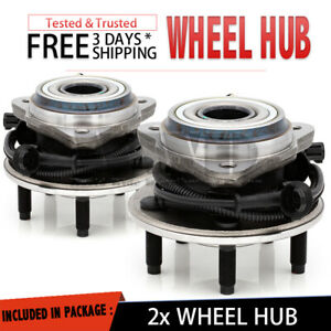 2x 515003 Front Wheel Hub & Bearing For 2001-2005 FORD EXPLORER SPORT TRAC [4WD]