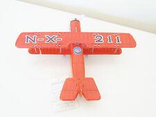 Muestra De Hojalata Curtiss JN-4 Jenny biplano (Suzuki/Sss) St. Louis Nx 211 Rara