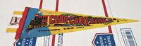 Vintage Choo-Choo Barn TrainTown Made In USA Pennant