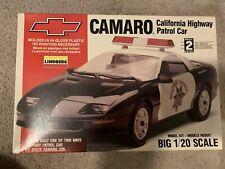 Lindberg California Highway Patrol Chevrolet Camaro 1/20 Model Kit 72586 🆕NEW🆕