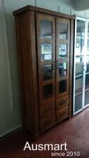 sollid timber Display Bookcase Storage Unit Bookshelf Office Cabinet