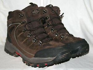 MENS NORTHWEST TERRITORY HIKING LACE UP BOOT BROWN  UK SIZE 10 / EU 44
