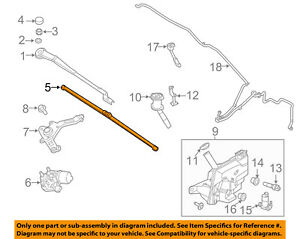 FORD OEM 12-16 Focus Wiper Arm-Front Blade CP9Z17528A