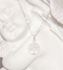 Markenlose runde Echtschmuck-Halsketten & -Anhänger ohne Stein