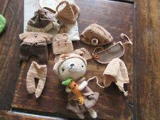 Ours crochet amigurumi et ses vêtements - Automne