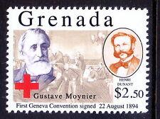 Grenada 2010 MNH, Gustave Moynier, Henry Dunant, Nobel Peace (G2n)
