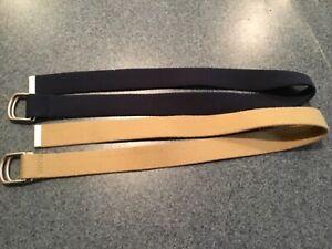 Lands End boys belts (10-12)