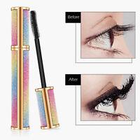 Vivid Galaxy Mascara 4D Silk Fiber Lashes Thick Lengthening Waterproof Makeup