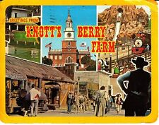 Greetings from Knott's Berry Farm Multi-View California Ca 1974 Vintage Postcard