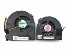 New Dell Precision M4700 CPU & GPU Cooling Fan DC28000DDDL DC28000DEVL