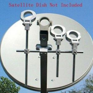 Mulitfeed Ku LNB bracket LNB Holder Hold up to 4 Ku band LNB on Ku dish antenna
