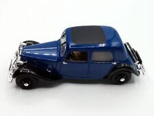 Voiture de collection - Universal Hobbies, Citroën Traction 7A  1/43
