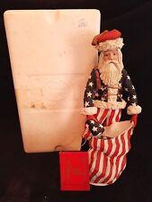 "12"" Duncan Royale Civil War Santa Figurine w Hang Tag 1983 Christmas"