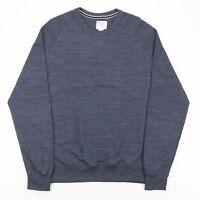 CHAMPION Grey Sports Casual Pullover Sweatshirt Men's Size Large