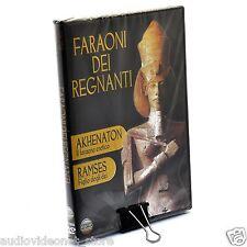 FARAONI DEI REGNANTI DVD Ramses e Akhenaton NUOVO
