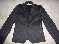 Zara size 8 black pin stripe blazer jacket. EUR 36