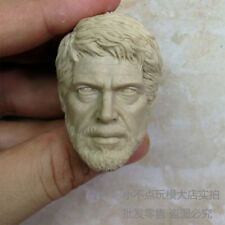 Free Shipping blank 1/6 Scale The Last of Us TLOU Joel Head Sculpt unpainted AU