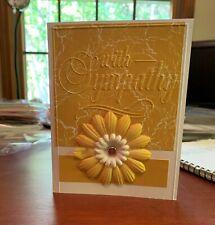 homemade sympathy card
