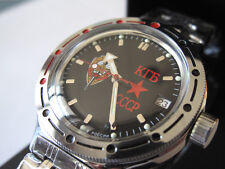 Vostok Russian KGB Amfibia Diver Automatic Watch 420457