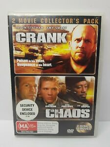 Crank / Chaos: Jason Statham - DVD - Free AusPost