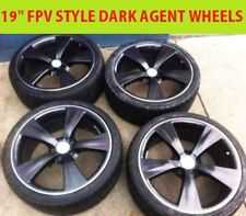 "4X 19"" INCH Ford FPV STLYE Alloy Wheels Rims FORD FALCON AU BA BF FG XR MUSTANG"