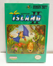 ADVENTURE ISLAND II - NINTENDO NES NTSC USA VERSION RARE COMPLETE