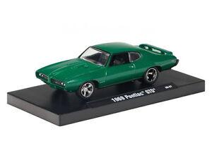 1969 Pontiac GTO,grün,M2 Machines,Drivers,1:64,OVP,Neu