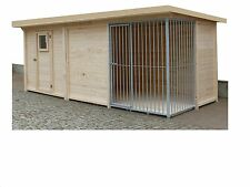 Hundezwinger  2x3 mit Zuchtzelle/Gerätehaus 2x2